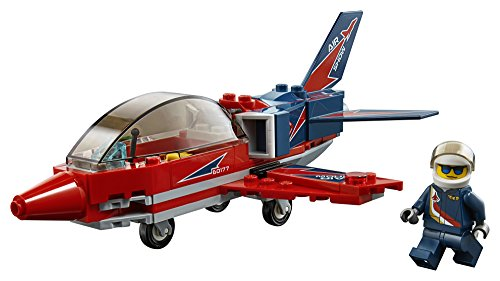 LEGO City Great Vehicles Airshow Jet 60177 Building Kit (87 Piece)