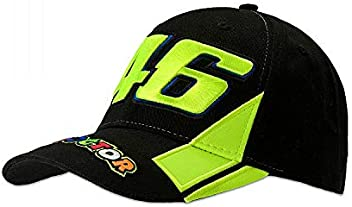 Valentino Rossi Black VR46 Race The Doctor Snapback Cap