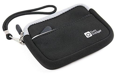 DURAGADGET Premium Quality Black Neoprene Compact Case for the Mammut Barryvox Pulse (DVA) Avalanche Transceiver
