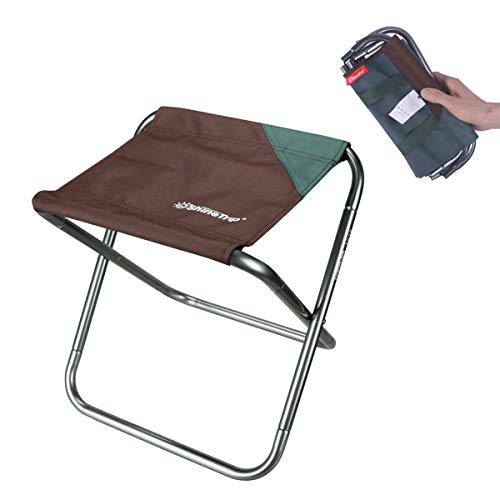 Ultralight Portable Folding Camping Stool for Outdoor Fishing Hiking Backpacking Travelling Outdoor Little Stools (12
