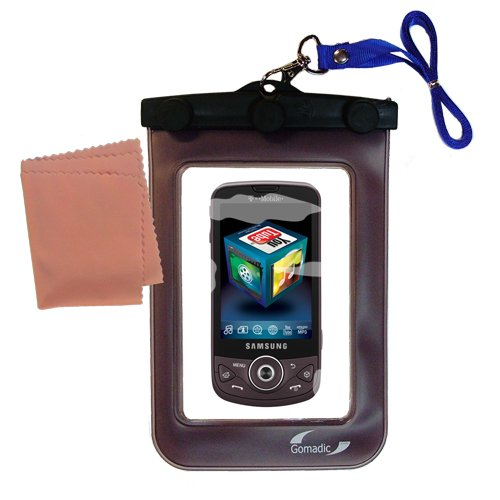 Waterproof+Case+compatible+with+the+Samsung+Behold+II+(SGH-T939)