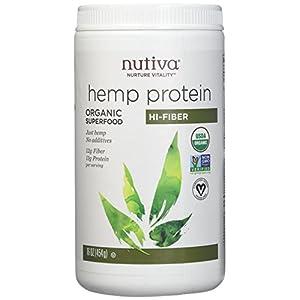 Pack of 1 x Nutiva Organic Hemp Protein Hi-Fiber &...