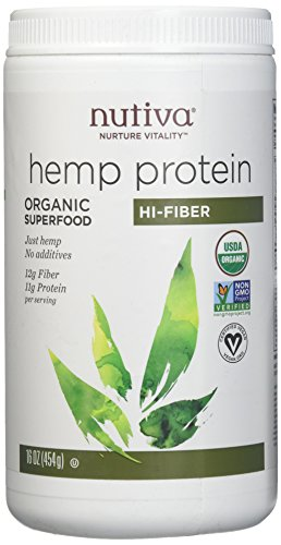Nutiva, Hemp Protein Powder Organic, 16 Ounce