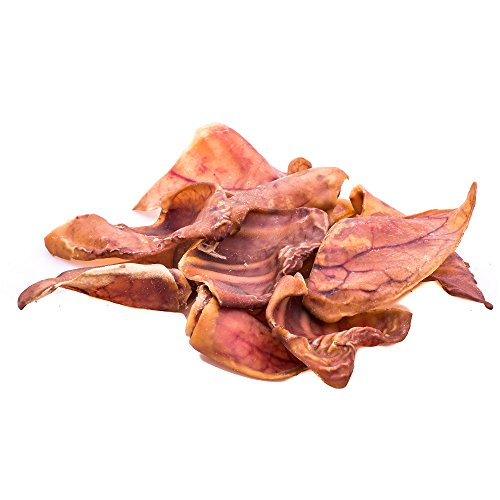 123 Treats Pig Ears for Dogs | Quality Pork Dog Chews 100% Natural Pork Ears Full of Protein for Your Pet (Brazil, 30 Count) by 123 Treats (Image #2)'