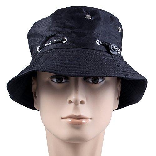 summer-bucket-hatkingstar-mens-reversible-bucket-cap-summer-string-hats-outdoor-hat