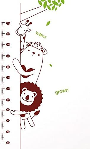 KIKI – Mono altura medida tabla de crecimiento medidor de altura adhesivo para pared vinilo de pared