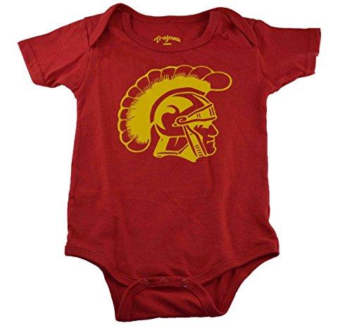USC Infant Dress Set Shirt+bib+booties (12 Months)