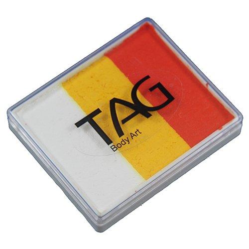 TAG Face Paint Base Blender Split Cakes - Tiger (50g)