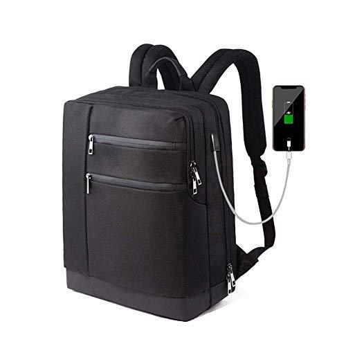 Computer Borsetta Portatile Impermeabile Laptop Viaggio Huikafir Borsa Tela Da Neutra Zaino In Usb Lavoro Per wIxxq6Tpa