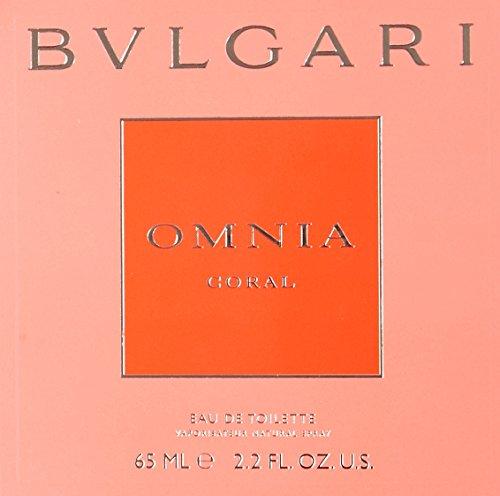 Bvlgari Omnia Coral Eau De Toilette Spray for Women, 2.2 Ounce