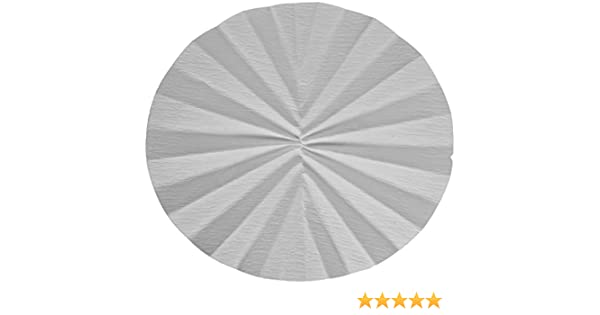 Whatman Filtro plegado de papel, Calidad 520 A-1/2 (Pack de 100 ...