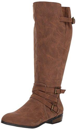 Calf girl Fashion Women's Paris Wide Cognac Boot madden Opus vICTnn