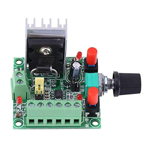 DC 5-12V/15-160V Stepper Motor Drive,PWM Adjustable Stepper Motor Controller Signal Generator Speed Regulator