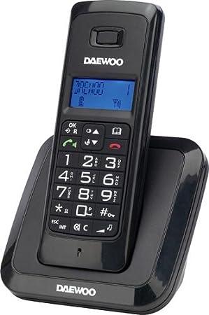 Daewoo DTD 1200 - Teléfono inalámbrico DECT: Amazon.es: Electrónica