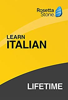 Rosetta Stone: Learn Italian with Lifetime Access on iOS, Android, PC, and Mac [Activation Code by Mail] (B07HGQ4NFS) | Amazon price tracker / tracking, Amazon price history charts, Amazon price watches, Amazon price drop alerts