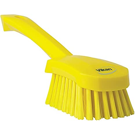 Vikan 41903 Heavy Duty Sweep Hand Brush, Polypropylene, Polyester Bristle, 10', Blue 10