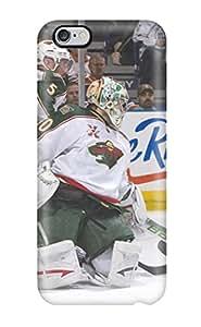 IoCBMom14697LdkpG Case Cover Protector For Iphone 6 Plus Minnesota Wild Hockey Nhl (26) Case