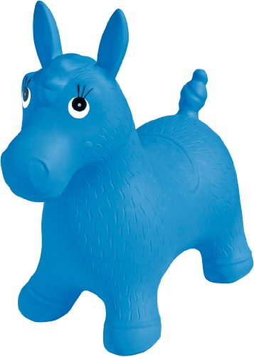 - Hedstrom Pony Inflatable Animal Hopper- Blue