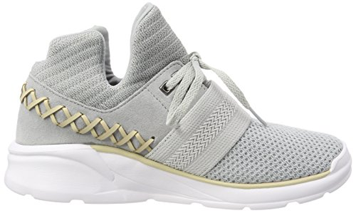 Catori Women's Grey Shoes Lt white Supra CBSawOqxaP