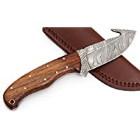 W Trading Custom hand made damascus steel blade gorgeous...