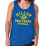 Friday Night Game Panthers Football Jersey Tank Top