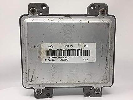 Amazon com: 2007 Saturn Ion Engine Computer ECU PCM PN