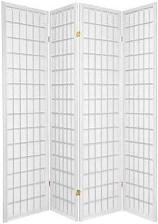 Legacy Decor 4 Panels Shoji Screen Room Divider White 71 H X 70
