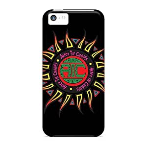Iphone 5c CBn20025SRVi Special Colorful Design Alice In Chains Band Series Shock Absorbent Hard Cell-phone Case -ErleneRobinson