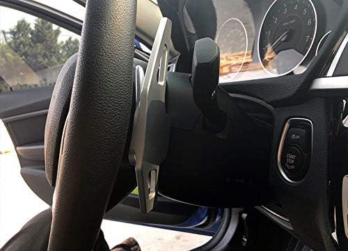 High Flying Für 2er F22 F23 2014 2018 F45 F46 2016 2018 Aluminiumlegierung Lenkradschaltung Lenkrad Wählhebel Schaltknauf Dsg Schaltwippen Verlängerung Silver Auto