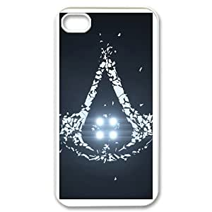 iPhone 4,4S Cell Phone Case White Assassin's Creed AFT847839