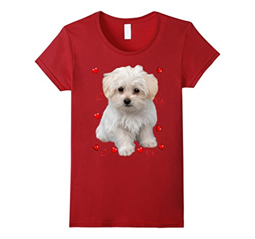 Maltese Dog Lover T-Shirts Dogs Fans Gift