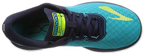 Brooks Pureflow 6, Zapatos para Correr para Mujer Azul (Bluebird/peacoat/lime Punch)