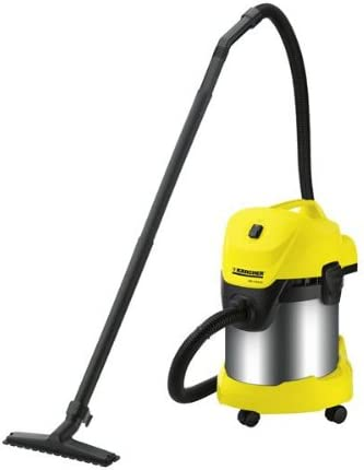 Kärcher WD 3.300 M - Aspirador, 1400 W, 17 l, 390 x 340 x 545 mm, 5800 g, color negro y amarillo: Amazon.es: Hogar