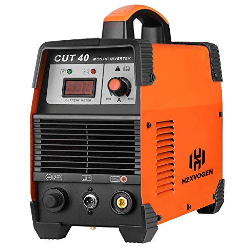 HZXVOGEN 40Amp Plasma Cutter 220V Air Plasma Cutter DC Inverter Cutting Machine - 60% Duty Cycle All Kinds of Steel Clean Cutting Machine IGBT Technology (CUT40) ()