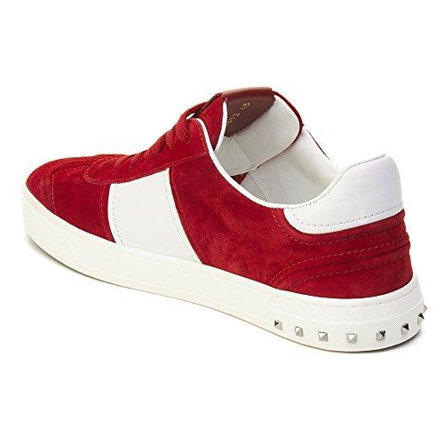 Valentino Sneakers Mannen - Suede (2s0a08la) Eu Rood