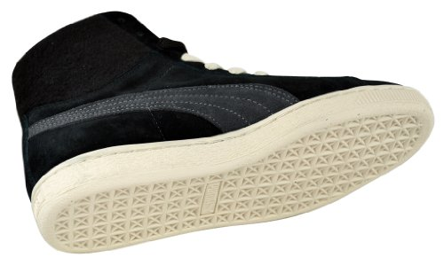 Puma Suede MID City Black 355374 04 - Black/Dark Shadow
