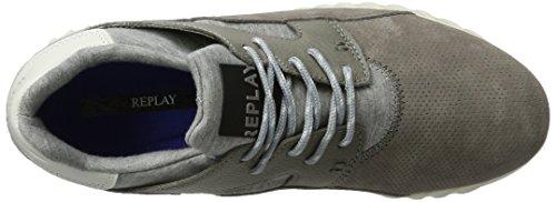 Sneaker 28 Grigio Uomo Replay Format grey qv5xZw