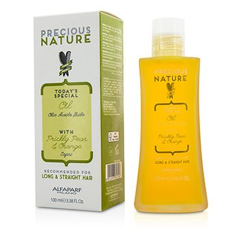 - AlfaParf Precious Nature Today's Special Oil with Prickly Pear & Orange (For Long & Straight Hair) 100ml/3.38oz