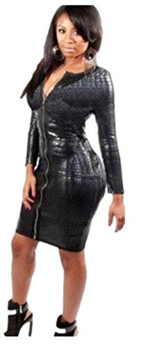 HarrowandSmith - Robe - Colonne - Femme noir noir
