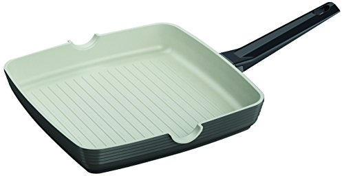 "Domo D59BS2800 11 by 11"" Griddle Pan, Large, Black"