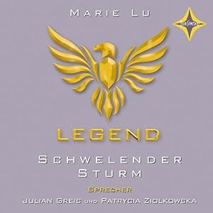 Schwelender Sturm (Legend 2) Hörbuch