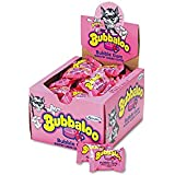 Bubbaloo® 9162700 - BUBBLE GUM W/LIQUID CENTER, INDIVIDUALLY WRAPPED PIECES, 60/BOX