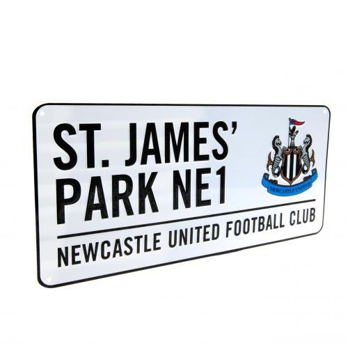 - Newcastle United FC - Authentic EPL St James Park Street Sign