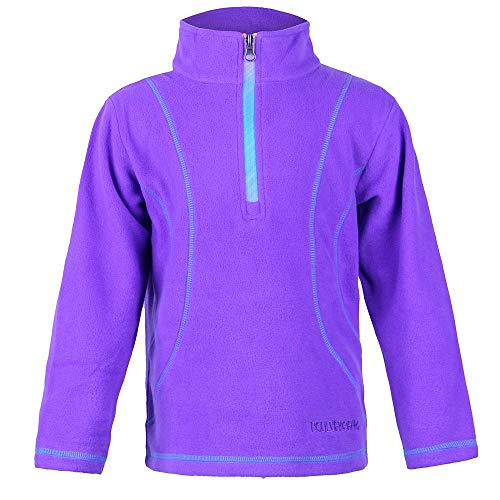 Micro Turtleneck Fleece (Boulder Gear Chloe Micro Fleece 1/4-Zip Mid-Layer Little Girls)