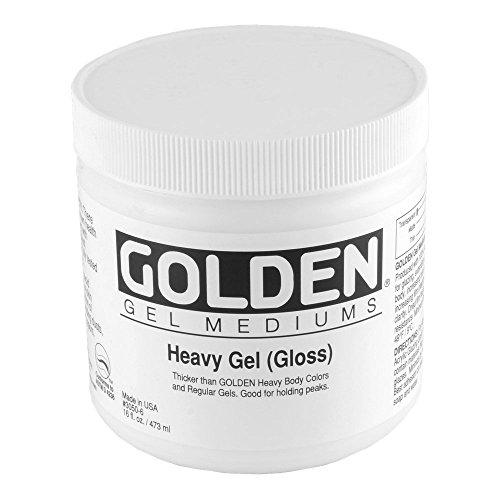 (Golden Acryl Med 16 Oz Heavy Gel Gloss)