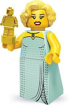 Lego 71000 Series 9 Minifigure Hollywood Starlet