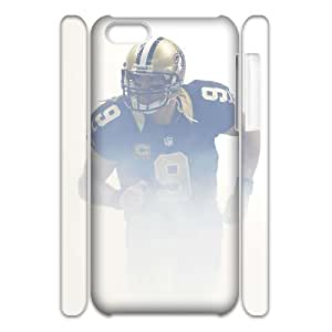 MMZ DIY PHONE CASECustom Phone Cases Print Drew Brees Hard Case for iphone 6 plus 5.5 inch VY129391