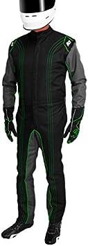 Orange, X-Small K1 Race Gear CIK//FIA Level 2 Approved Kart Racing Suit
