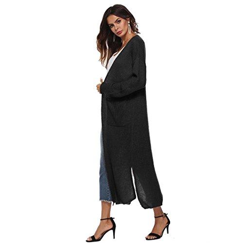 Sleepwear kimono Pyjamas lungo lunga Vestito autunno Boho da donna y6HEncpwpq