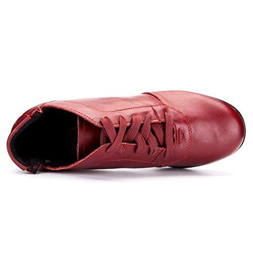 Baskets Gymnastique Chaussures Modèle HIPPOSEUS amp;Jazz de Cuir Air de Hommes Sport Chaussons Danse T07 de de de Soft Baskets Plein Femmes de Modern Sneaker et xFO1z